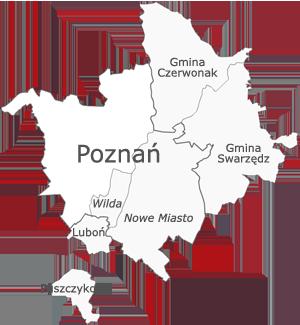 Właściwość terenowa Sądu Rejonowego Poznań - Nowe Miasto i Wilda